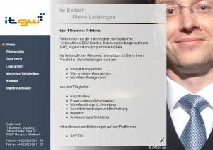 itGW – Guido Weil IT-Consultant | Corporate Design