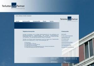 Terlutter Rechtsanwaltsgeschaft - Corporate Design